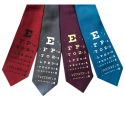 Eye Chart Neckties