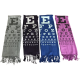 Pashmina Eye Chart Scarves