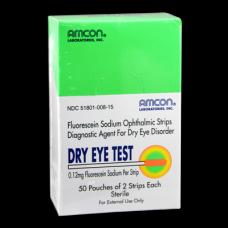 Dry Eye Test Strips 0.12 mg - Exp. 8/18