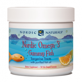 Nordic Omega-3 Gummy Fish - Exp 2/20