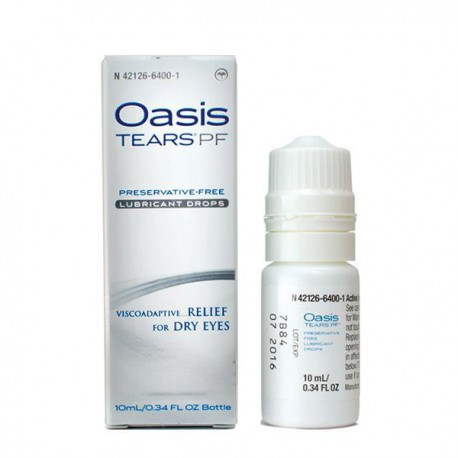 Oasis Tears PF Preservative-Free Lubricant Drops