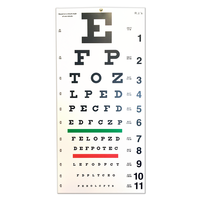 It is a graphic of Witty Printable Snellen Eye Charts