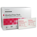 Alcohol Prep Pads - Medium - McKesson