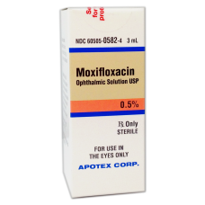 Moxifloxacin 0.5% Solution