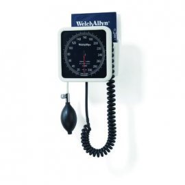 Welch Allyn® Tycos 767 Wall Mounted Blood Pressure Unit with Adult Cuff