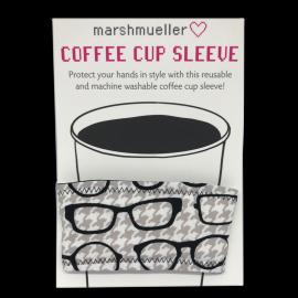 Coffee Cup Sleeve - Black & White