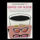 Coffee Cup Sleeve - Pink Poolside