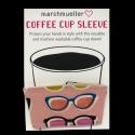 Coffee Cup Sleeve - Poolside Pink