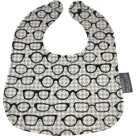 Cloth Bib - Black & White