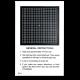 Amsler Grid Give-Away Sheets - Black Squares