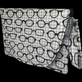 Diaper + Wipe Clutch - Black & White