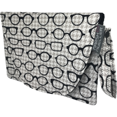 Diaper + Wipe Clutch - Black & White