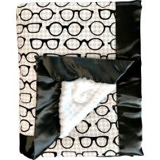 Stroller Blanket - Black & White