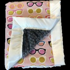 Stroller Blanket - Poolside Pink