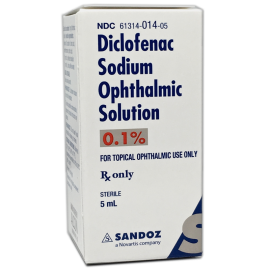 Diclofenac Sodium 0.1% Solution