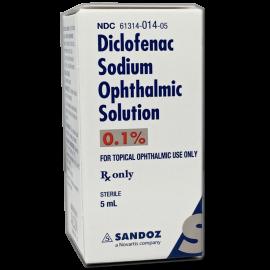 Diclofenac Sodium 0.1% Solution