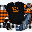 Women's Halloween Fitted Tee